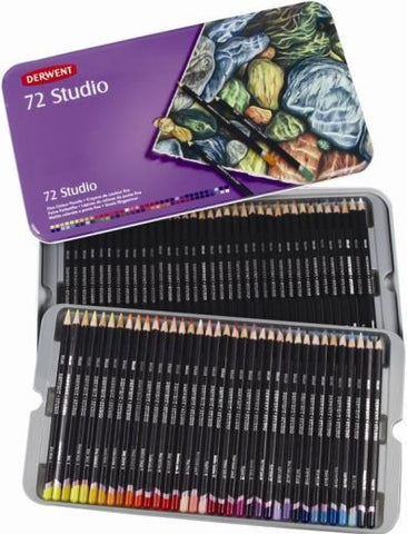 Derwent Studio Pencil: 6 Deep Cadmium