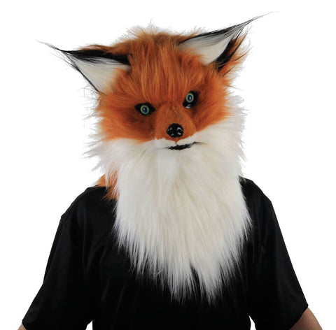 Adult Fox Mask with Moving Mouth