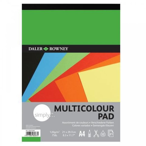 Daler Rowney Multicoloured Paper Pad