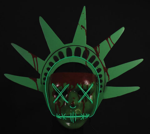 The Purge Election Year - Light Up Liberty Injection Mask