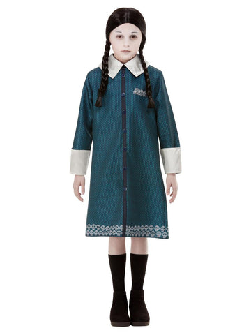 Child Addams Family Wednesday Girls Costume