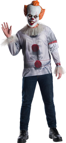 Adult IT Movie Pennywise Costume Top