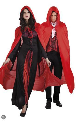 Adult Hooded Cape Red Costume