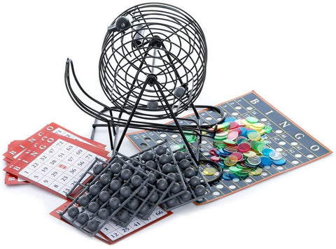 Spinmaster Deluxe Bingo Cage Game