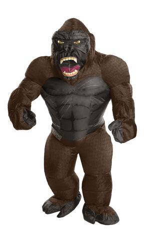 Adult Inflatable King Kong Unisex Costume Standard