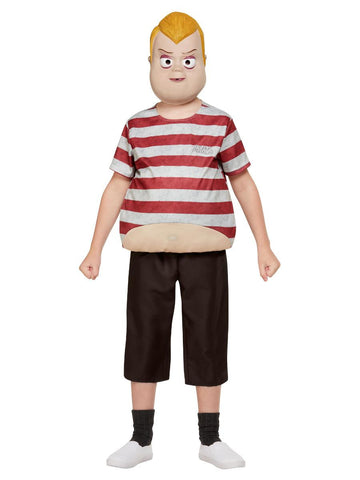 Child Addams Family Pugsley Boys Costume