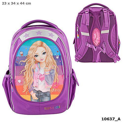 TOPModel Backpack Friends Purple