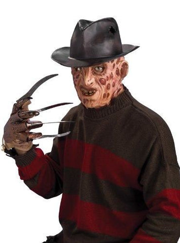 Freddy Krueger Moulded Adult Fedora Hat