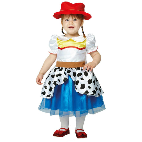 Child Disney Toy Story Jessie Dress Girls Costume