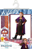 Child Anna - Disney Frozen 2 - Travel Outfit Girls Costume