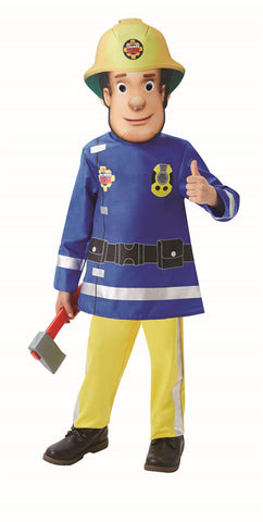 Child Fireman Sam Toddler Boys Costume