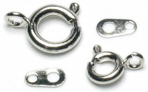 Mixed Spring Ring Pack - Silver (26