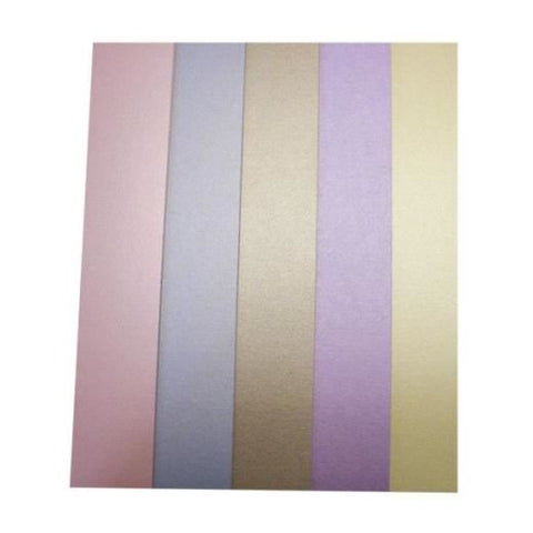 Pearly Pastel Card: Pink