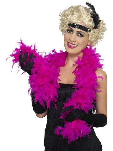 Feather Boa - Fuchsia - 150cm