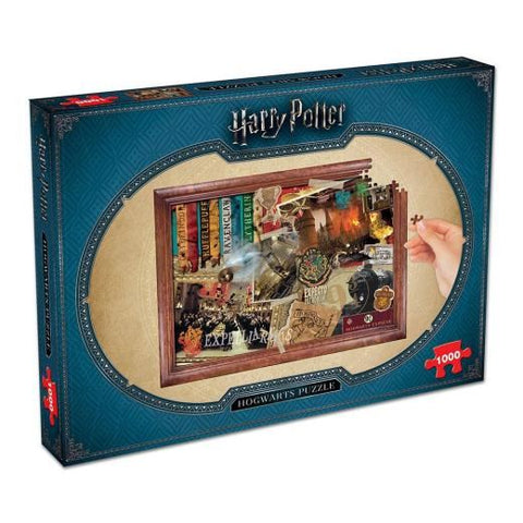 Harry Potter 1000 pc Hogwarts Jigsaw Puzzle
