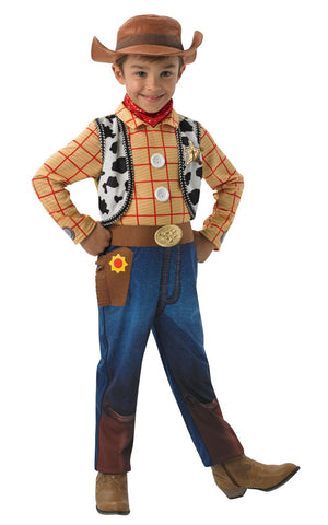 Child Toystory Woody Deluxe Boys Costume