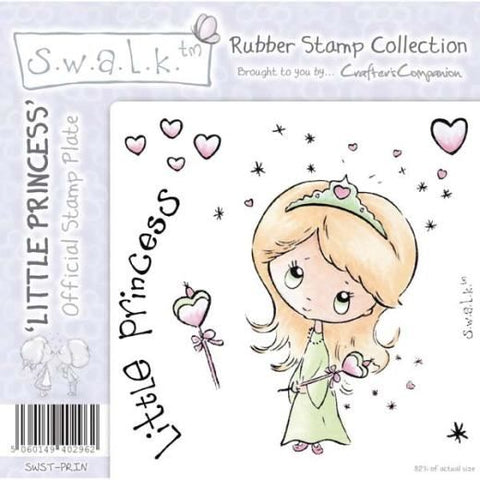 Swalk Rubber Stamp  Little Princess