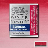 Cotman Watercolour Half Pan: Aliz Crimson Hue