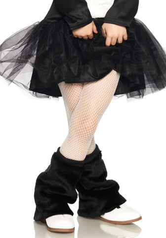 Leg Avenue Kids Fishnet Tights: L: White