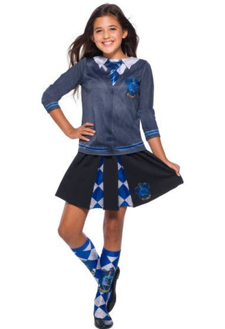 Child Harry Potter Ravenclaw Girls Skirt