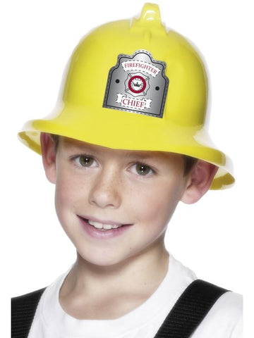 Yellow Fire Chief Helmet
