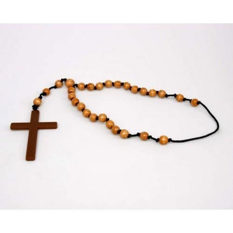 Rosary Necklace With Cross LIBROLANDIA 12688 S/C ROSARIO CON CROCE 15 CM