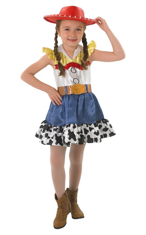 Child Disney Jessie Dress With Hat Girls Costume