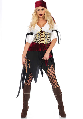 Adult Leg Avenue 2PC. High Seas Wench Ladies Costume