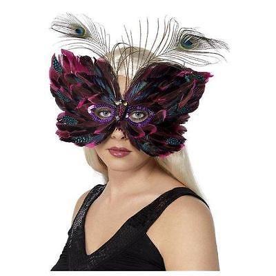 Red Butterfly Eye Mask