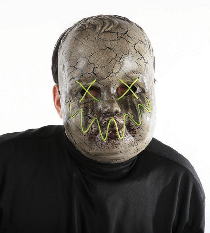 Precious Adult Mask With Electroluminescent Wire
