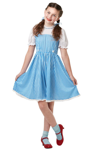 Child Dorothy Wizard of Oz Girls Costume