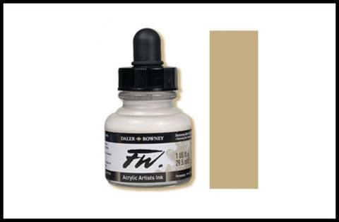 FW Ink 29.5 ml: Shimmering Gold