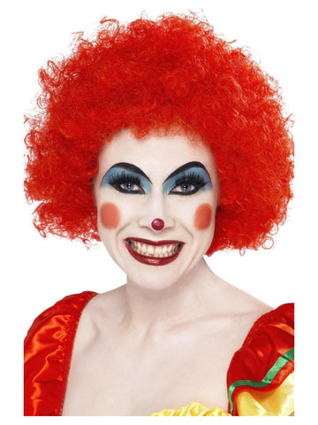 Red - Crazy Clown Wig