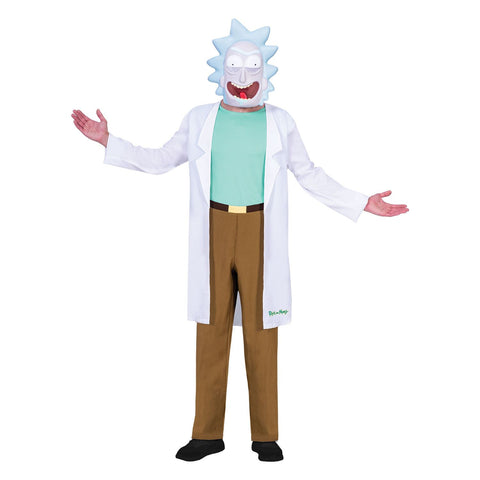 Teen Rick - Rick And Morty Boys Costume