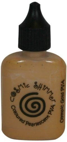Cosmic Shimmer Pva Glue Olympic Gold 30ml