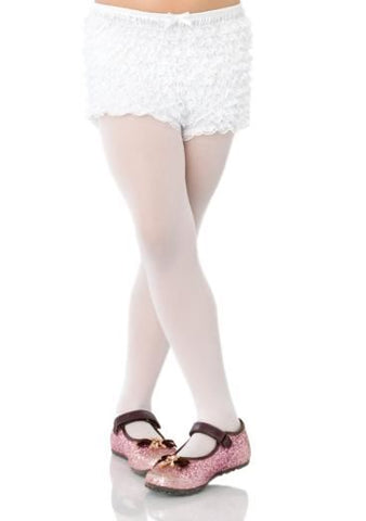 Leg Avenue Childrens Ruffle Shorts: One Size: Light Pink