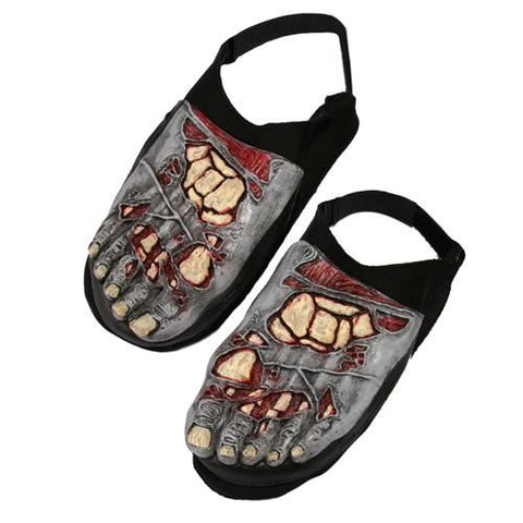 Zombie Foot Covers Shoes Footwear Accessory for Halloween Living Dead Fancy D...