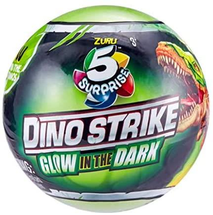 Dino 5 Surprise Glow in The Dark - Series 2