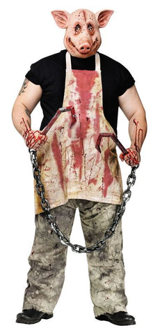 Adult Butcher Pig Mens Costume