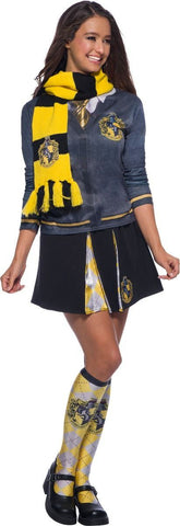 2.Harry Potter Hufflepuff Deluxe Scarf Costume Accessory