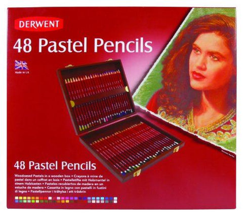 Derwent Pastel Pencil: 75F Hookers Green
