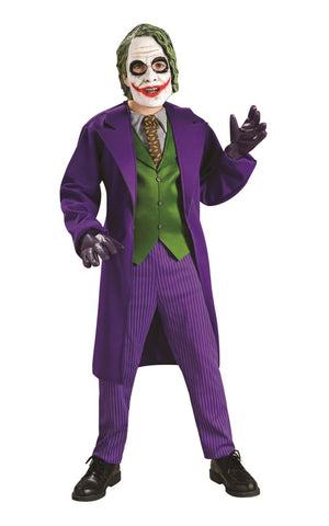 Child The Joker Deluxe Boys Costume - The Dark Knight