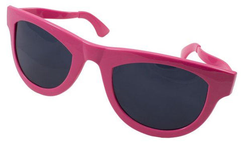 Xxl Party Glasses Neon Cerise