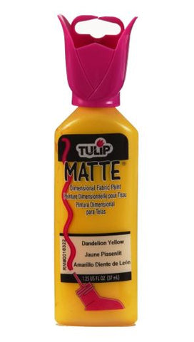 Tulip 37 ml: Matte Dandi Yellow