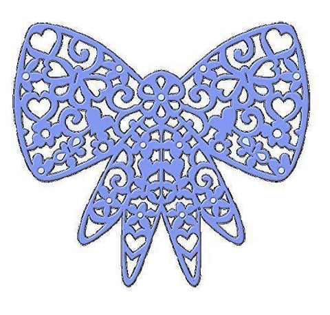 Sweet Dixie Filigree Bow Die