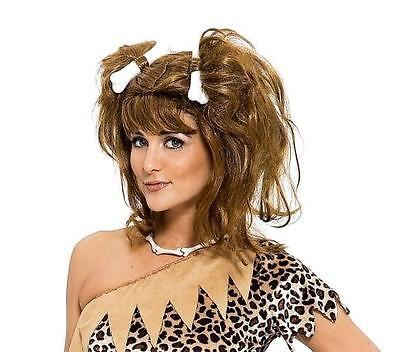 Cave Girl Brown Wig
