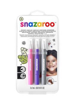 Snazaroo Brush Pens Face Paint - Fantasy - Pack of 3