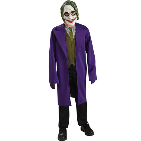 Child The Dark Knight Joker Teen Boys Costume