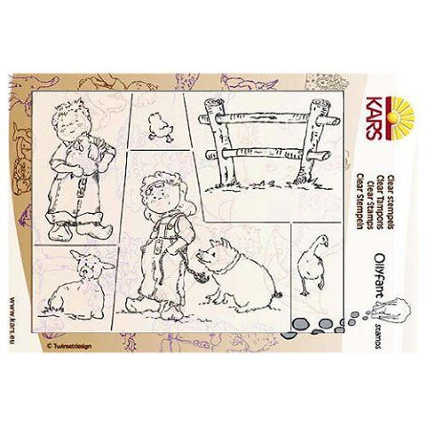 Clear Rubber Stamps Om The Farm