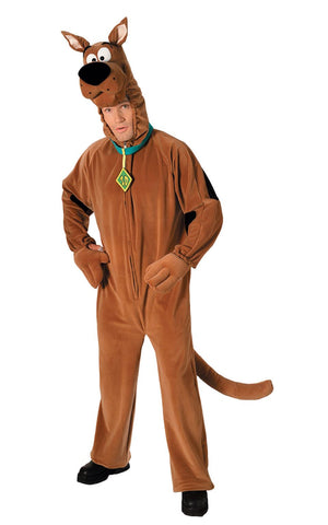 Adult Scooby Doo Jumpsuit Mens Costume